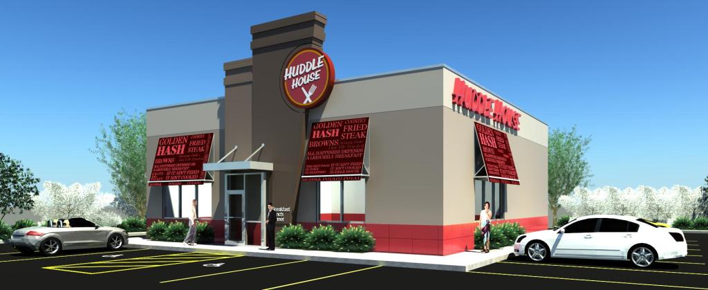 HUDDLE HOUSE RENDERING