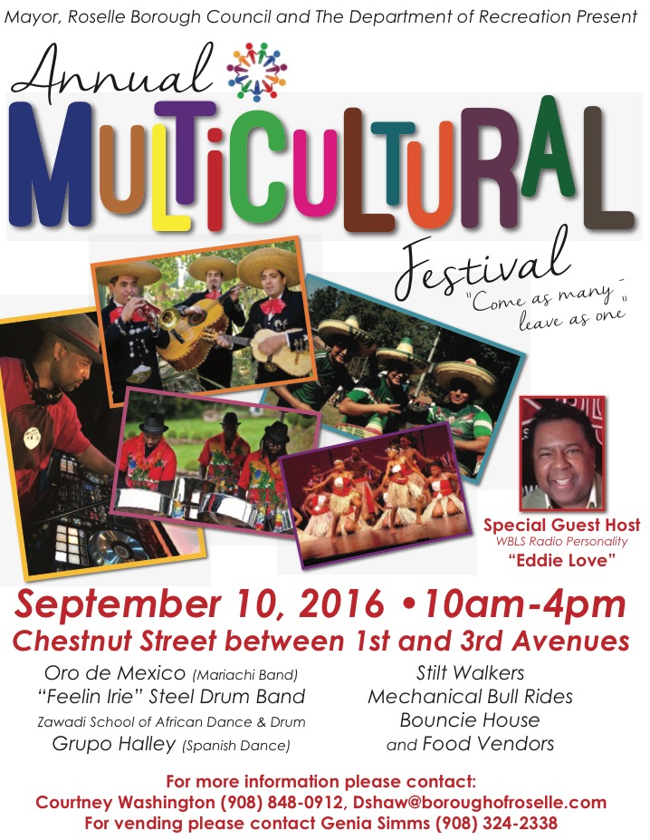 multicultural event roselle